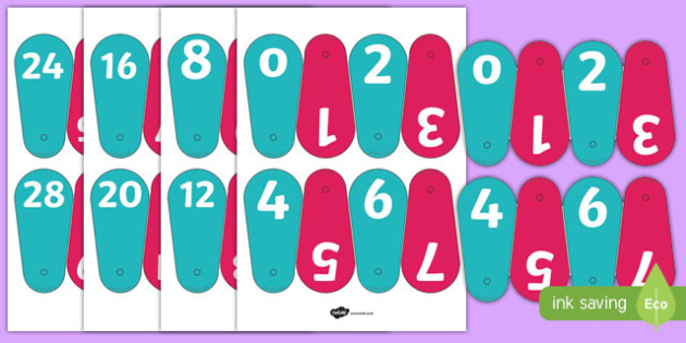 Number Fans (0-30) - Number fans, foundation stage, numeracy, problems solving, reasoning, numeracy, number recognition