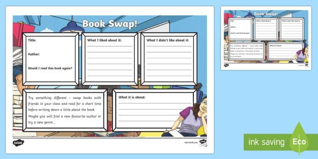 Book Swap Book Review - CfE Literacy, reading, choice, book swap, reading enjoyment,Scottish, review,