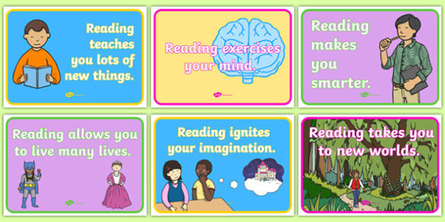 Reasons to Read Display Posters - reasons to read, reasons, read, display posters, display, posters