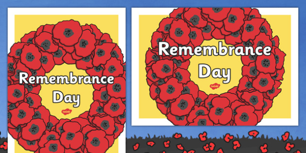 Remembrance Day Display Poster - remembrance day, display poster, display, poster