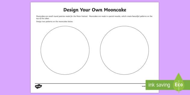 Mooncakes and Lanterns Draw Activity Sheet - Moon Festival, mid autumn festival, south-east asia, china, vietnam, celebrations, moon cakes, moon