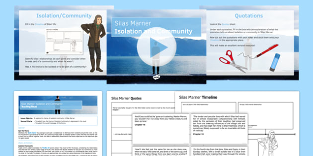 Silas Marner: Isolation and Community Lesson Pack