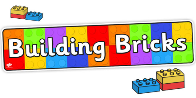 Building Brick Display Banner