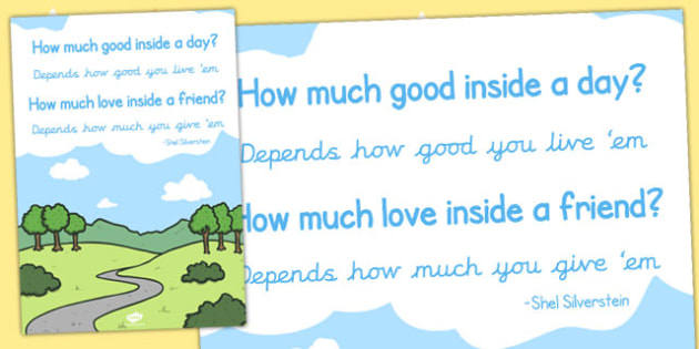 How Much Good Inside a Day Reading Quote Poster - poster, display