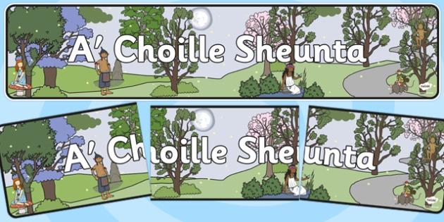The Enchanted Forest Scottish Gaelic Translation - enchanted forest, scottish gaelic