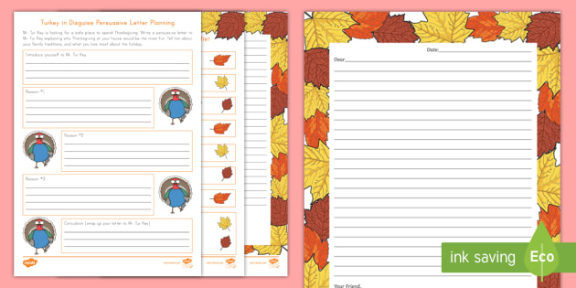 Turkey in disguise persuasive letter activity pack writing turkey in disguise persuasive letter activity pack writing persuasive persuasive letter turkey spiritdancerdesigns Image collections