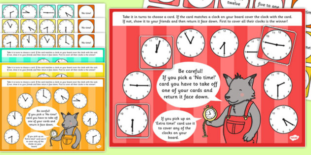 Mixed Time Bingo and Lotto Game - mixed, time, bingo, lotto, game, activity