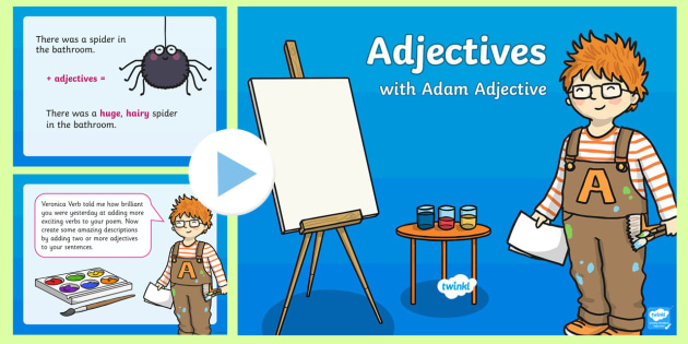 KS1 Adjectives PowerPoint