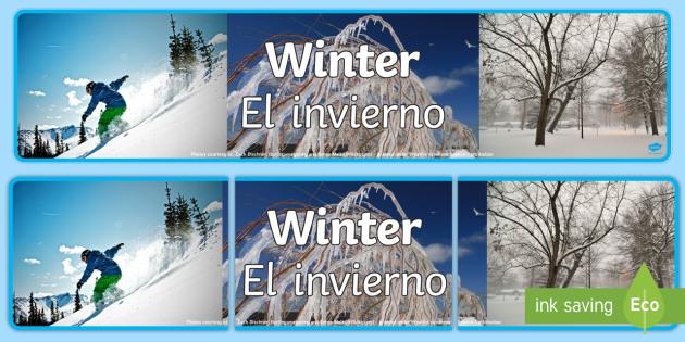 invierno definition spanish to english