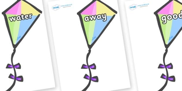Next 200 Common Words on Kites - Next 200 Common Words on  - DfES Letters and Sounds, Letters and Sounds, Letters and sounds words, Common words, 200 common words