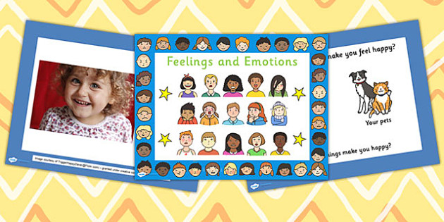 EYFS Feelings PowerPoint - ourselves, emotions, feeling, EYFS