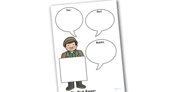 Role on the Wall Worksheet to Support Teaching on Percy the Park Keeper - percy the park keeper, role on the wall, worksheet, percy the park keeper worksheet, writing prompt