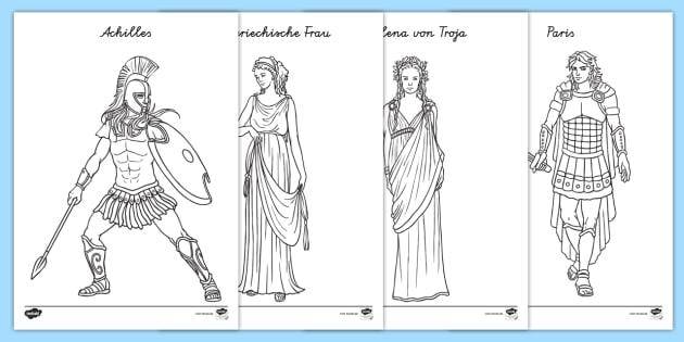 Gemütlich Antike Griechische Malvorlagen Zeitgenössisch - Framing ...