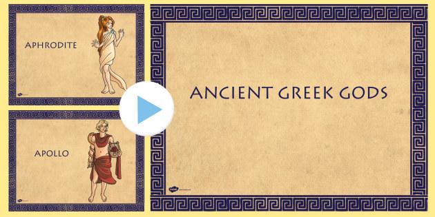 ancient greek gods picture powerpoint