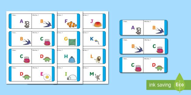 Alphabet Upper Case Loop Cards-Australia - English/Literacy Loop Cards,Australia