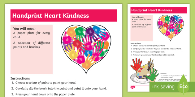EYFS All About Kindness Activity