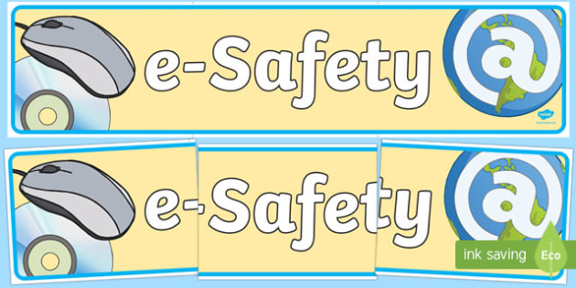 Esafety Display Banner - banners, displays, internet, visual
