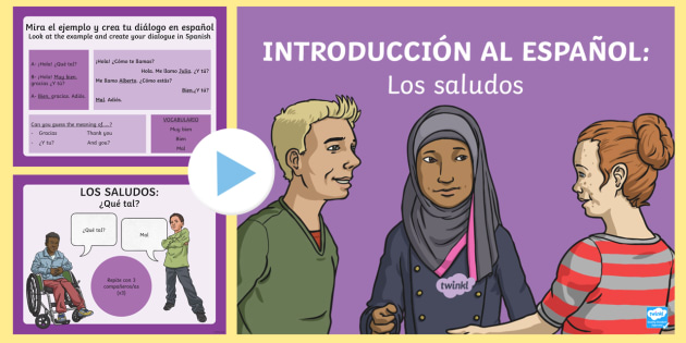 Introduction and greetings in spanish powerpoint spanish ks2 introduction and greetings in spanish powerpoint spanish ks2 greetings saludos how are m4hsunfo