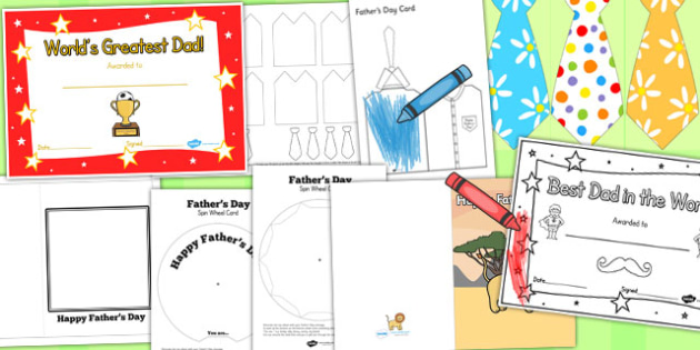 Father's Day Resource Pack for Childminders - child minder, dad