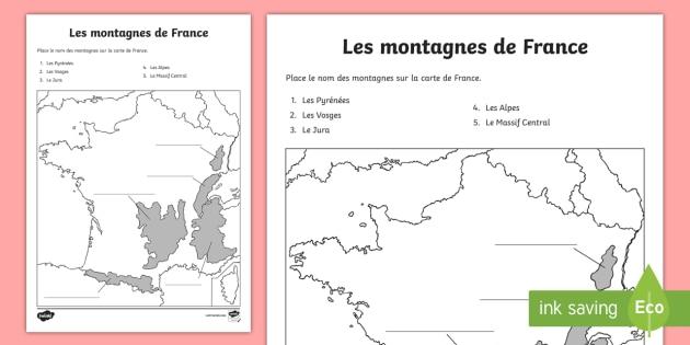 Montagne Image: Nom De Montagne En France