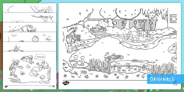 Garden Coloring Pages Images, Stock Photos & Vectors   Shutterstock   315x630