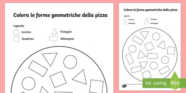 Figure Geometriche Da Colorare Per Bambini Scuola Primaria