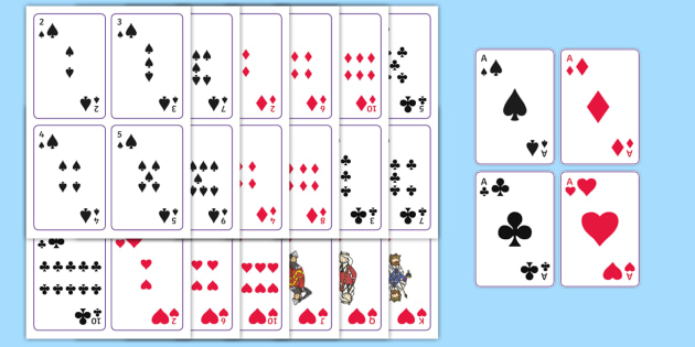 graphic regarding Printable Playing Cards named Printable Actively playing Playing cards