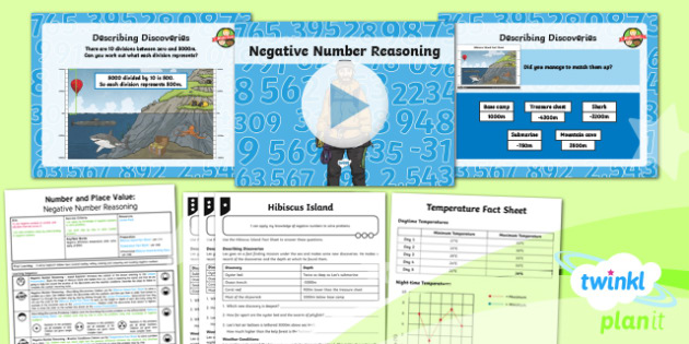 PlanIt Maths Y6 Number and Place Value Lesson Pack Negative Numbers (4)