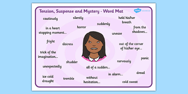 Free Words Phrases To Create Tension Suspense And