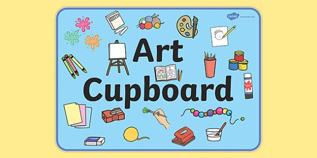 art cupboard display sign art art cupboard banner display