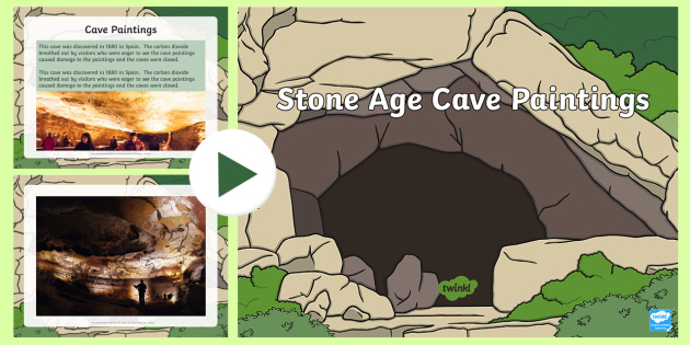 Stone Age Cave Paintings Ks2 Facts And Photo Powerpoint