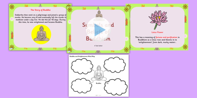 Buddhism Information PowerPoint and Mindmap Pack - buddhism, buddhists, buddhism powerpoint, buddhism worksheet, religions, religious education, religion