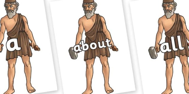 100 High Frequency Words on Hephaestus - High frequency words, hfw, DfES Letters and Sounds, Letters and Sounds, display words