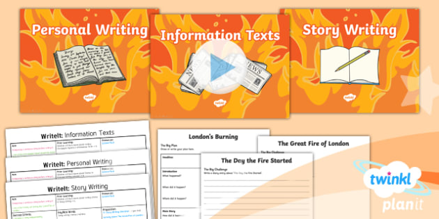 Time Travel: The Great Fire of London Y1 Writing Assessment - Samuel Pepys, Samuel Peeps, 1666, Pudding Lane, Charles II