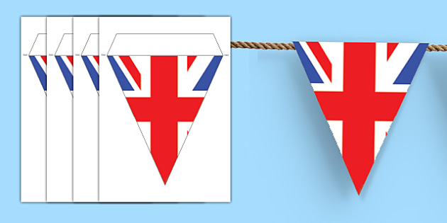 Make Your Own Union Flag Bunting Union Jack Bunting Great Britain