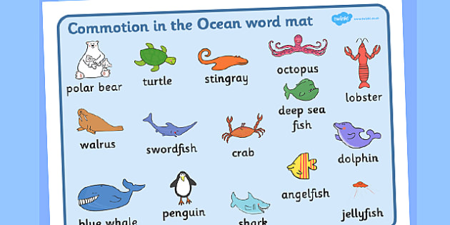 Word Mat Images To Support Teaching On Commotion In The