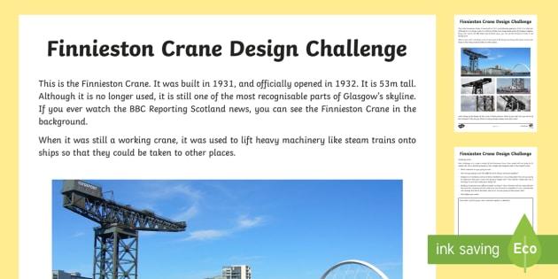 Glasgow Finnieston Crane Design Challenge - Scottish Cities, Glasgow, tourist attraction, Glasgow skyline,Scottish