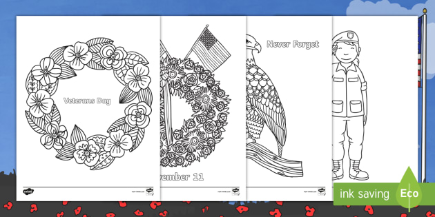 Veterans Day Mindfulness Coloring Sheets Veteran S Day Coloring