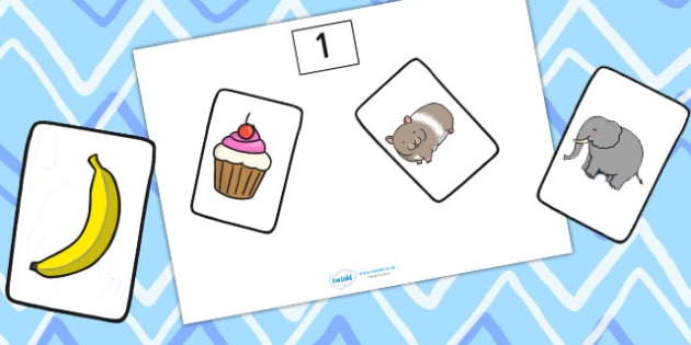 Number Counting Sorting Game 1-10 - number, counting, sorting game, game, sorting
