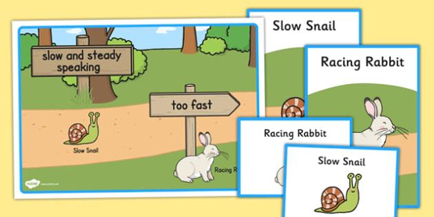 Slower Speech Visual Support - slower speech, visual support, visual, support