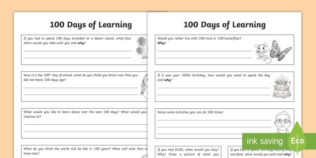 days of learning worksheets   days of school questions   days of learning worksheets   days of school questions worksheets