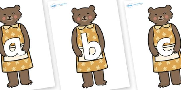 Phoneme Set on Mummy Bear - Phoneme set, phonemes, phoneme, Letters and Sounds, DfES, display, Phase 1, Phase 2, Phase 3, Phase 5, Foundation, Literacy