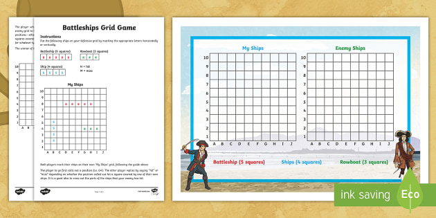 Battleships Grid Game  Battleship Navy Scores Grids