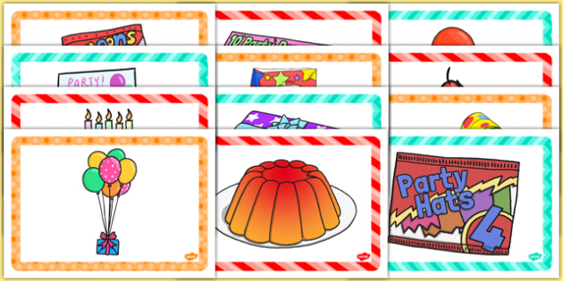 4th Birthday Party Place Mats - 4th birthday party, 4th birthday, birthday party, place mats
