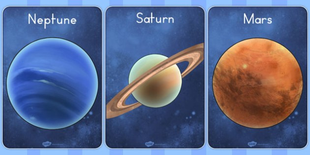 The Planets Display Posters - australia, planets, display, posters