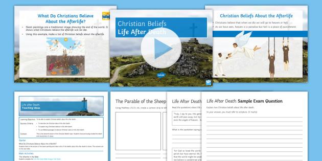 Christian beliefs homework help