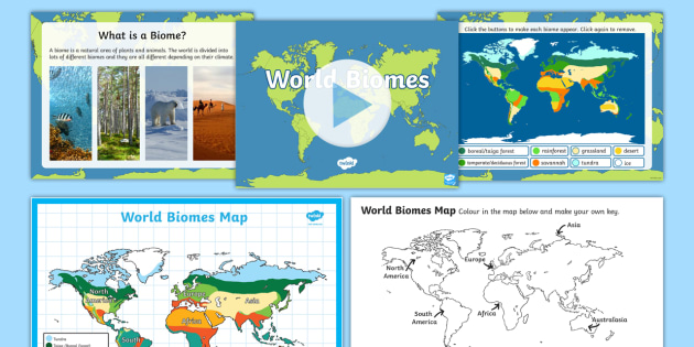 Environments world biomes resource pack year 4 achassk088 environments world biomes resource pack year 4 achassk088 powerpoint map gumiabroncs Image collections