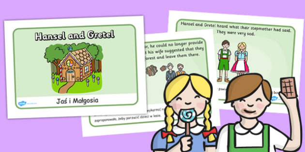 Hansel and Gretel Story Sequencing (A4) Polish Translation - polish