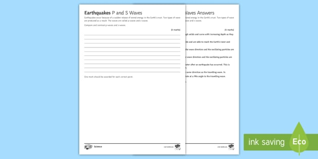 NEW * Earthquake Exam Question - Shake Out, New Zealand