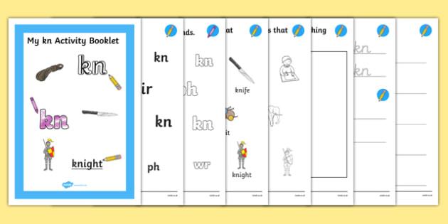 Kn Grapheme Phase 5 Alternative Spellings Activity Booklet